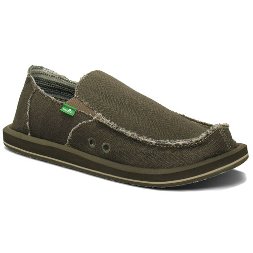 Sanuk Shoes - Hemp - Olive