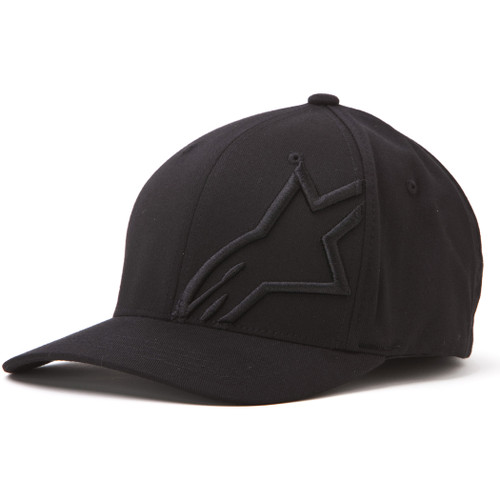 Alpinestars Hat - Corp Shift 2 - Black/Black