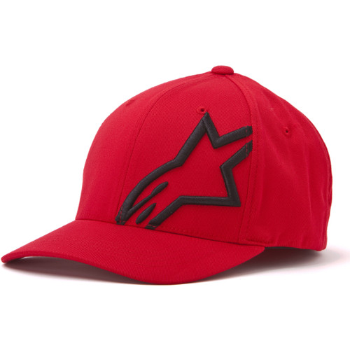 Alpinestars Hat - Corp Shift 2 - Red/Black