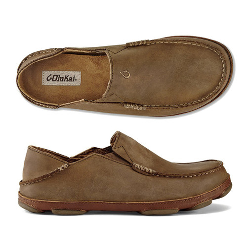 Olukai Shoes - Moloa Loafer - Ray/Toffee