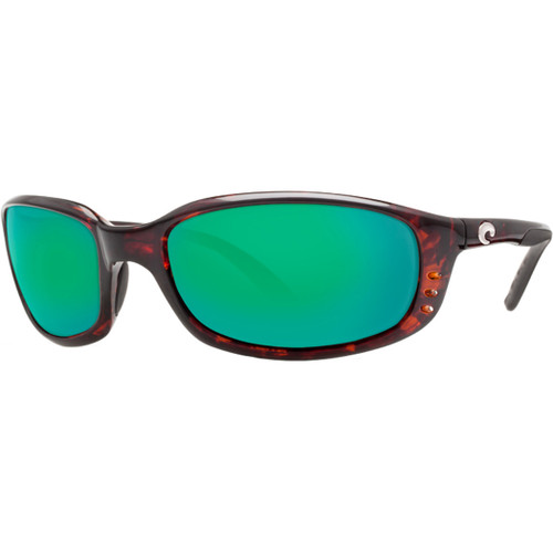 Costa Sunglasses - Brine - Tortoise/Green Mirror