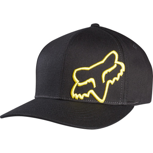 Fox Hat - Flex 45 - Black/Yellow
