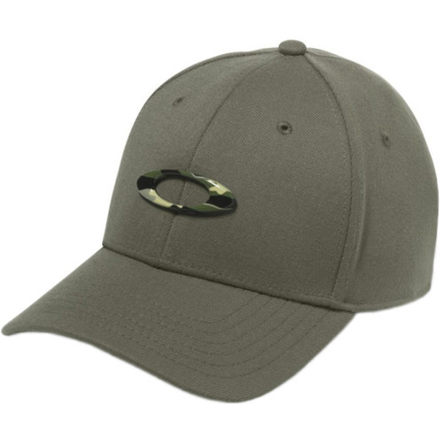 Oakley Hat - Tincan - Worn Olive/Graphic C