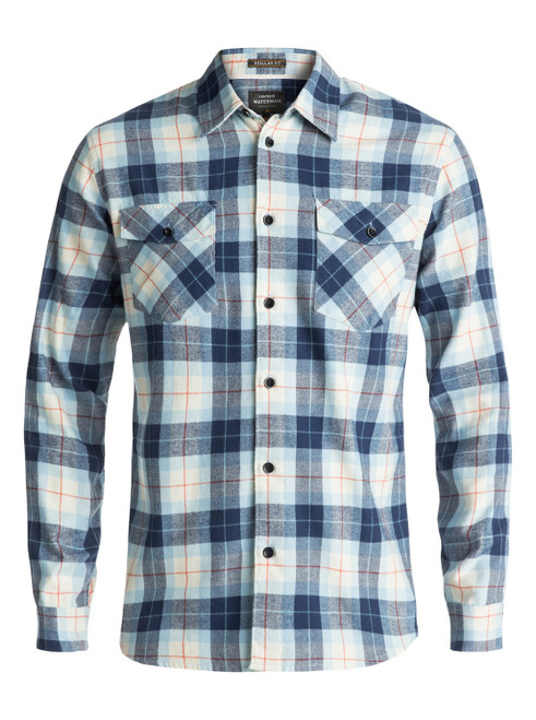 Quiksilver Shirt - Wade Creek Flannel LS - Rust