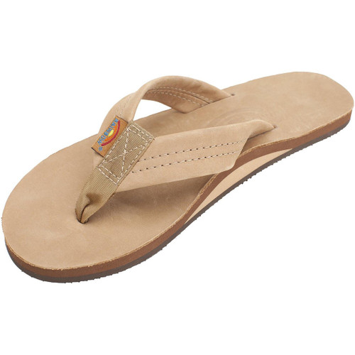 Rainbow Women's Flip Flop - 301 Single Layer - Sierra Brown