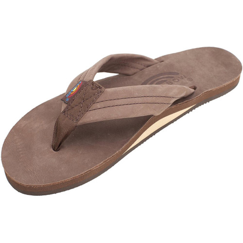 9ab830e3be34 Rainbow Women s Flip Flop - 301 Single Layer - Brown