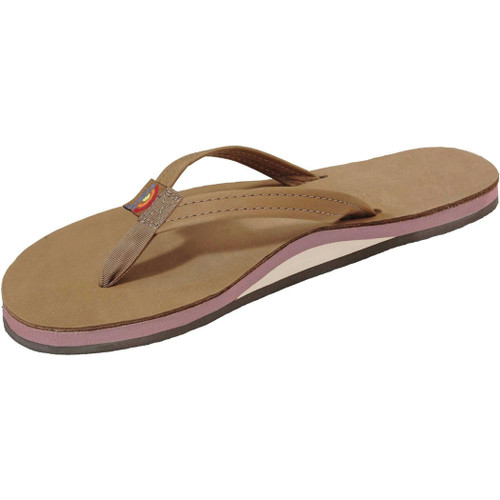 Rainbow Women's Flip Flop - Sierra Single Arched - Berry