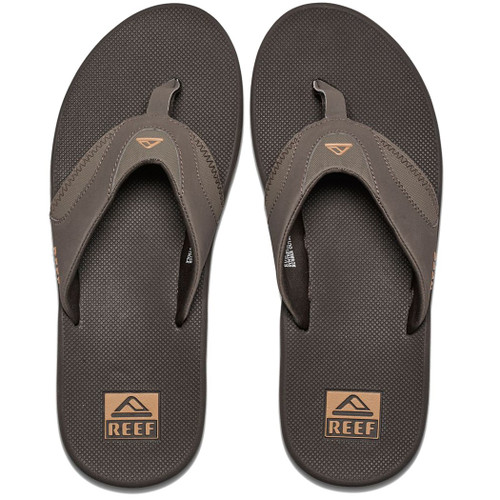 Reef Flip Flop - Fanning - Brown/Gum