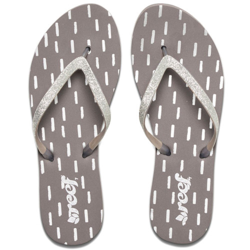 Reef Women's Flip Flop - Stargazer Prints - Gray