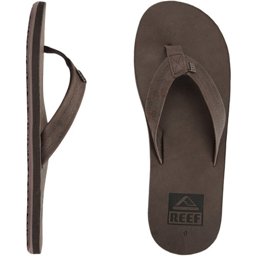 Reef Flip Flop - Crew - Brown Leather