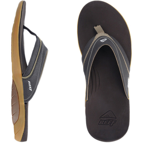 Reef Flip Flop - Stinger - Dark Brown/Tan