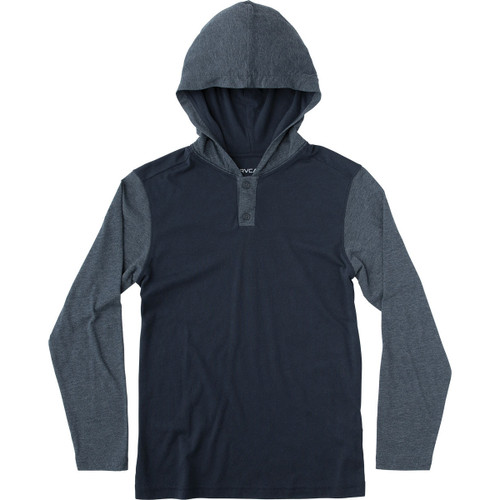 RVCA Boy's Hoody - Pick Up - Federal Blue