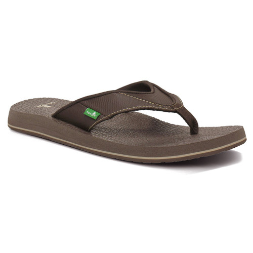 Sanuk Flip Flop - Beer Cozy S - Brown