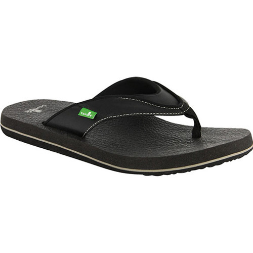 Sanuk Flip Flop - Beer Cozy S - Black