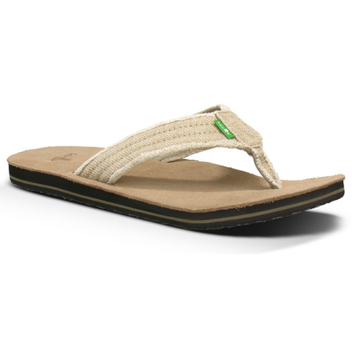 Sanuk Flip Flop - Fraid Not - Natural