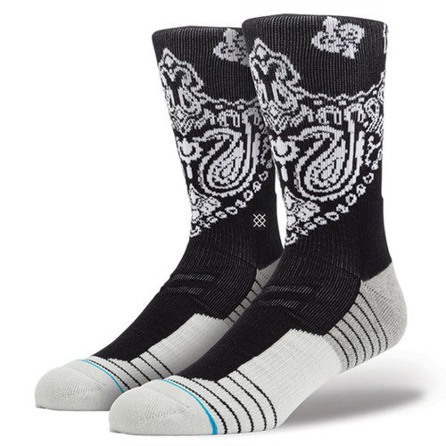 Stance Socks - 3Fold - Black