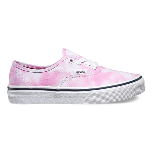 Vans Kid's Shoes - Authentic - Tie Dye Rose Violet