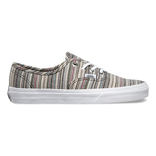 Vans Women's Shoes - Authentic - Textile Stripes