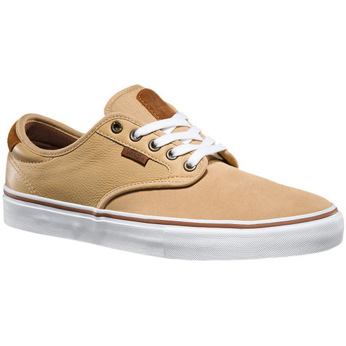 Vans Shoes - Chima Pro - Tan/White
