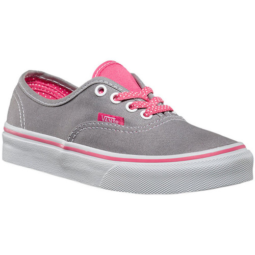 Vans Kid's Shoes - Authentic Polka Dots - Polka Dots Frost Gry