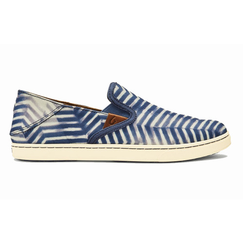 OluKai Women's Shoes - Pehuea Pa'I - Vintage Indigo/Off White
