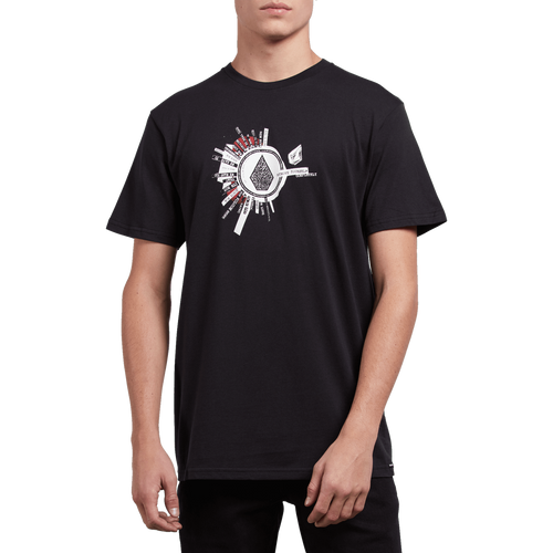 Volcom Tee Shirt - Radiate - Black