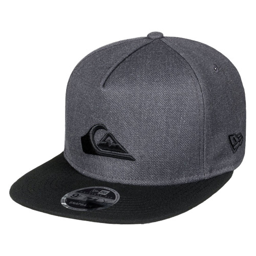 reputable site df5bc 53402 Quiksilver Hat - Stuckles Snap - Charcoal Heather