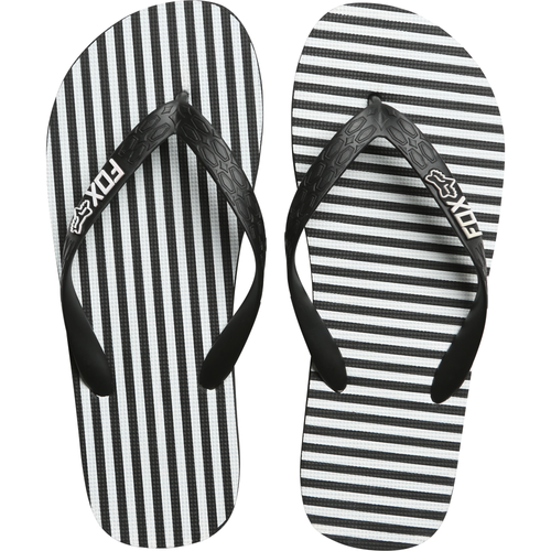 Fox Women's Flip Flop - Jail Break - Black/White