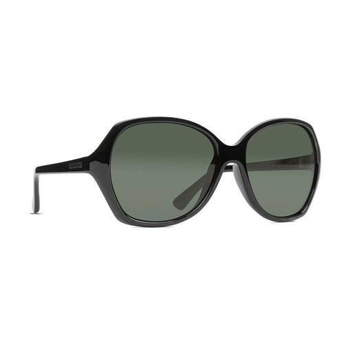 e137c6dc79d4d VonZipper Sunglasses - Plimpton Polarized - Black Gloss Vintage Gray ...