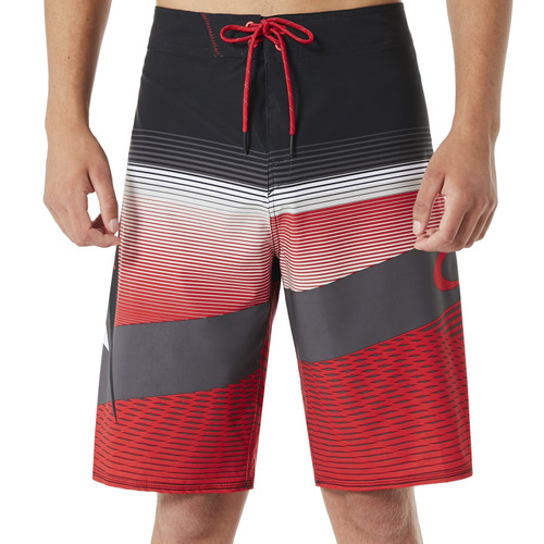 Oakley Boardshort - Gnarly Wave - Red Line