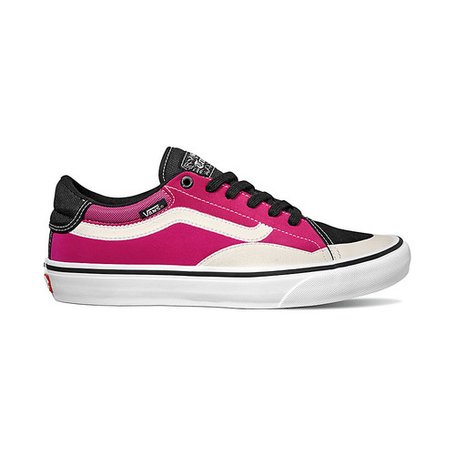 Vans Shoes - TNT Advanced Prototype - Black/Magenta/White