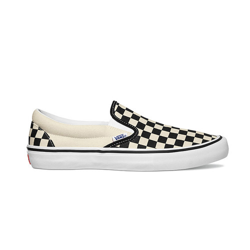 Vans Shoes - Slip-On Pro - Checkerboard Black/White