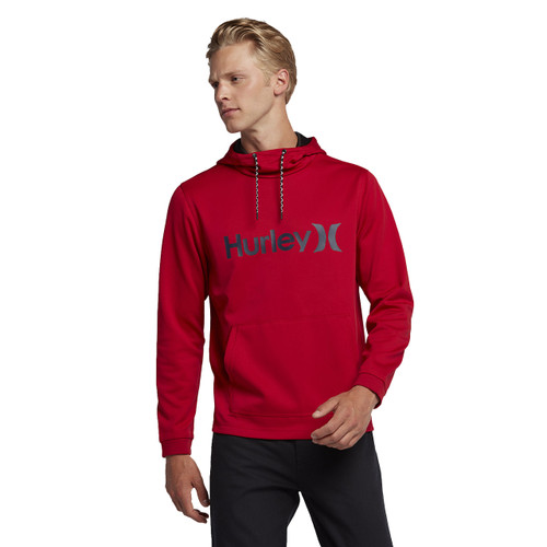 Hurley Hoody - Therma Protect - Gym Red
