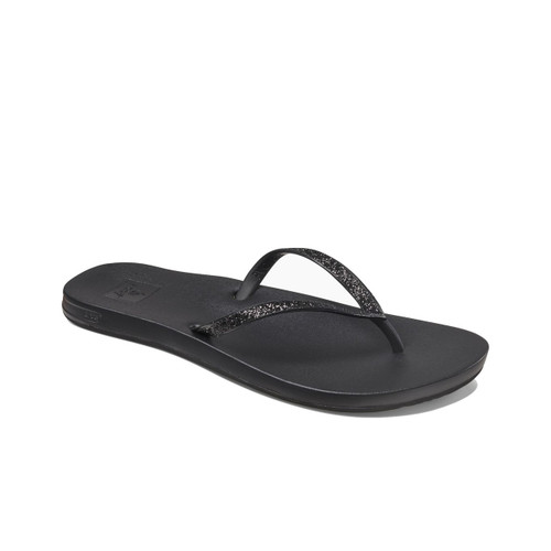 Reef Women's Flip Flops - Cushion Bounce Stargazer - Black