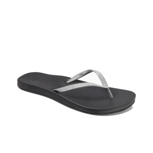 Reef Women's Flip Flops - Cushion Bounce Stargazer - Silver