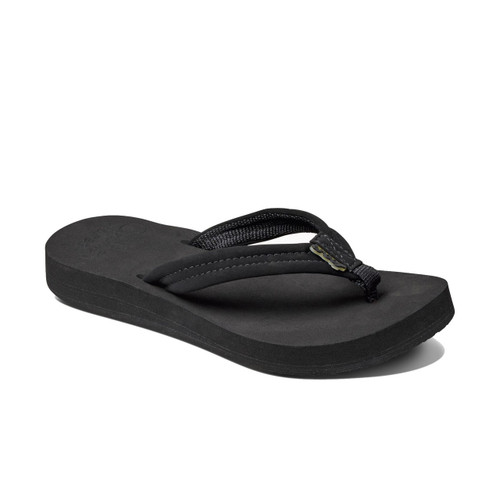 Reef Women's Flip Flops - Reef Cushion Breeze - Black/Black