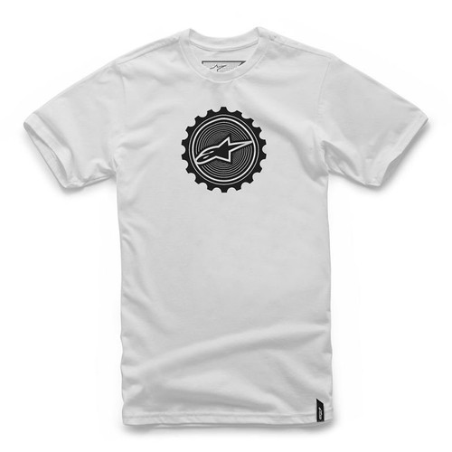 Alpinestars Tee Shirt - Geared - White