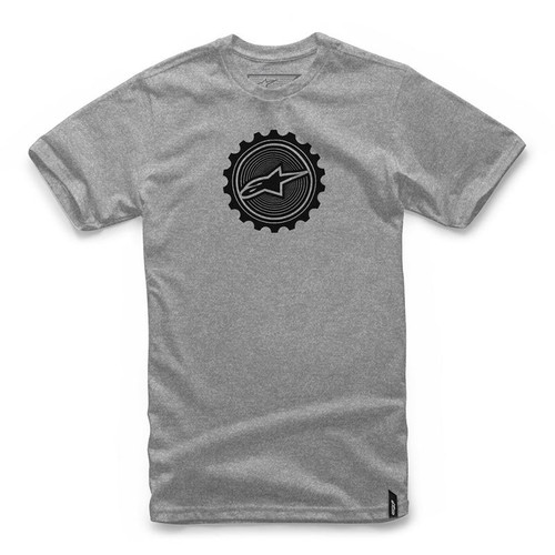 Alpinestars Tee Shirt - Geared - Grey Heather