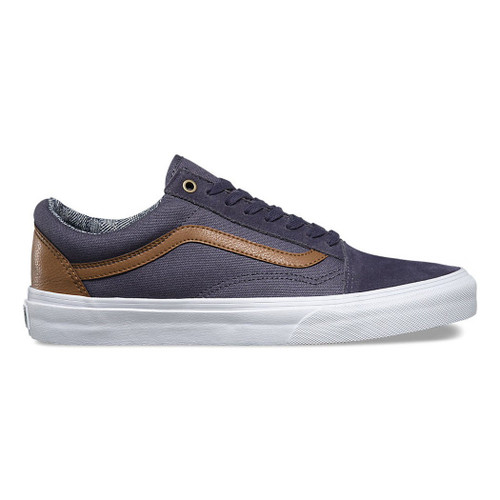 Vans Shoes - Old Skool C and L - Periscope/True White