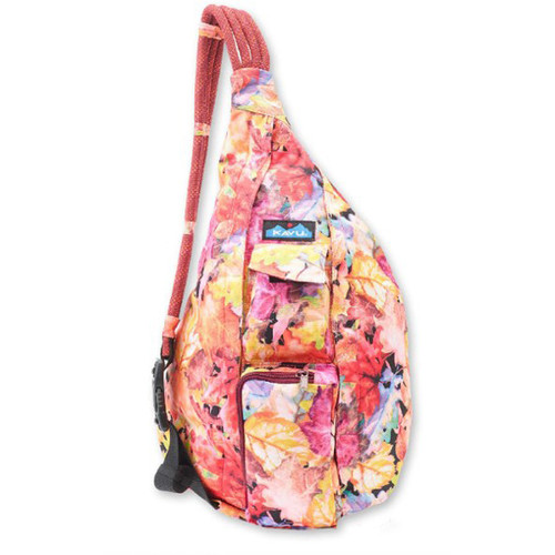 Kavu Women's Backpack - Rope Sling - Leaf Me Be