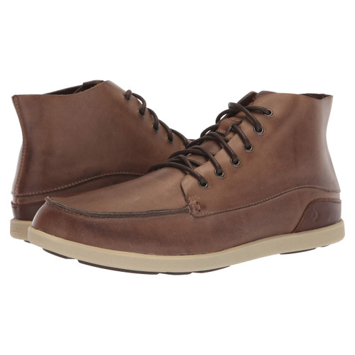 OluKai Shoes - Nalukai Boot - Husk/Silt