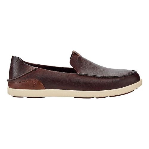 OluKai Shoes - Nalukai Slip-On - Kona Coffee/Tapa