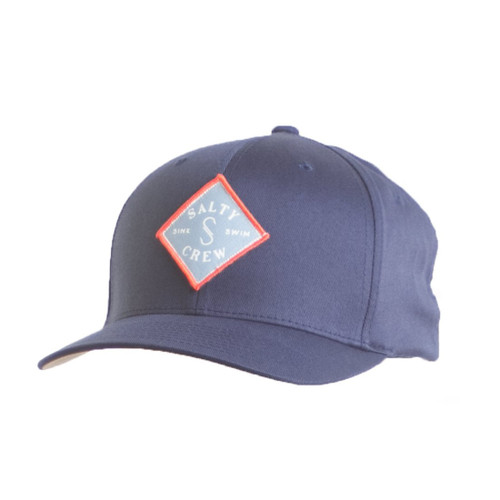 Salty Crew Hat - Tippet Stamped - Navy