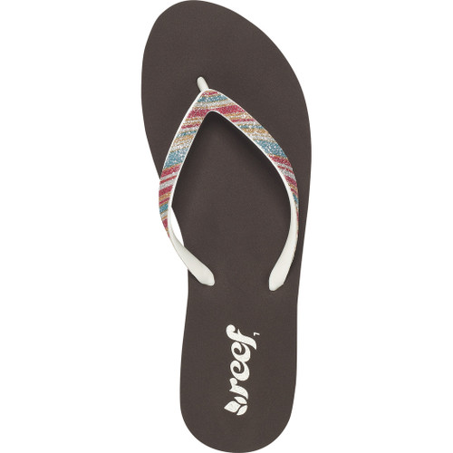 Reef Women's Flip Flop - Stargazer Luxe - Brown/Cream/Stripes