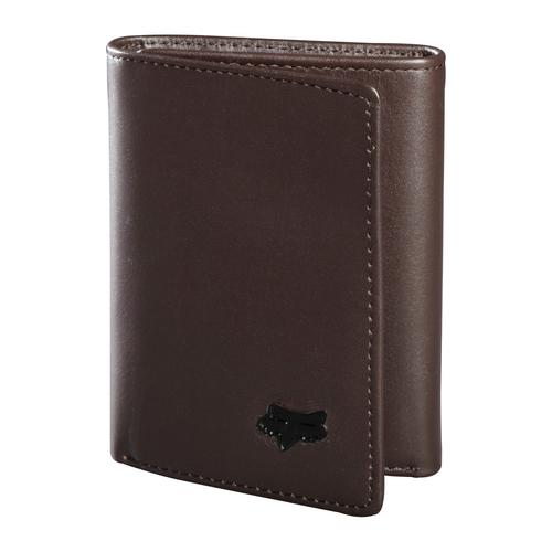 Fox Wallet - Leather Trifold 2018 - Brown