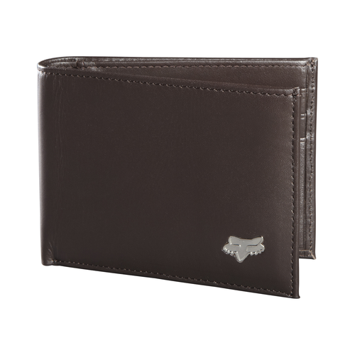 Fox Wallet - Leather Bifold 2018 - Brown