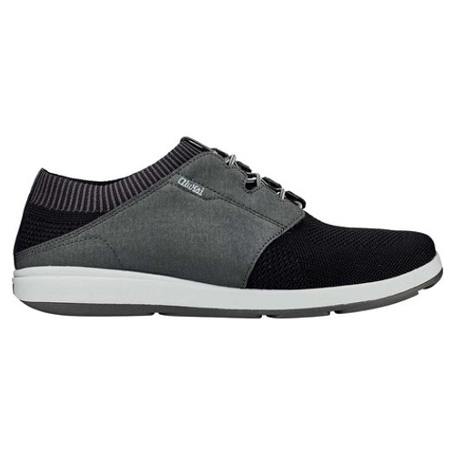 Olukai Shoes - Makia Ulana Kai - Black/Dark Shadow
