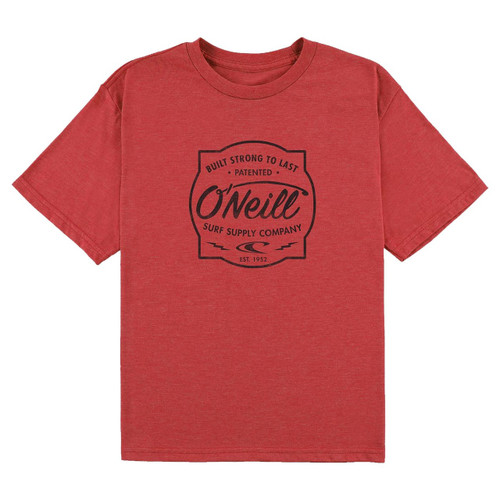 O'Neill Boy's Tee Shirt - Strong - Red