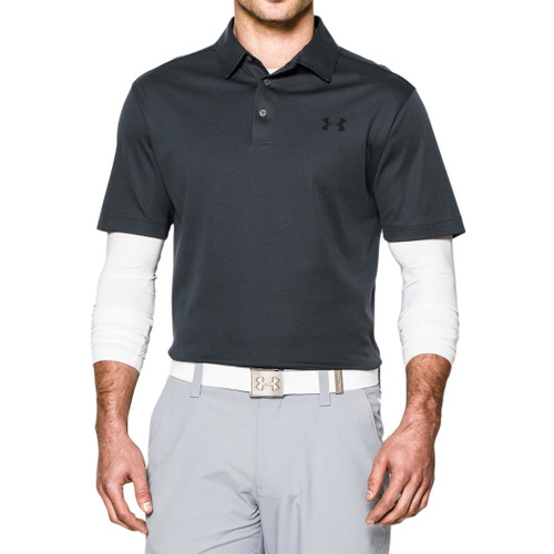 Under Armour Shirt - Tips Polo - Anthracite/Steel