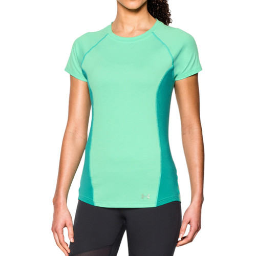Under Armour Women's Tee Shirt - Coolswitch Trail - Lime